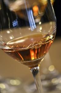 vinsanto in bicchiere